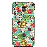 PrintVisa Designer Back Case Cover For Samsung Galaxy On Max (Multiple Pineapple Pattern)