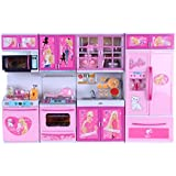 Elektra Kitchen Set Kids Luxury Battery Operated Kitchen Super Toy Set, Multi Color