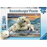 Ravensburger Puzzles Polar Bears, Multi Color (200 Pieces)