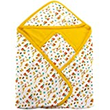 Mee Mee Baby Warm Wrapper With Hood (Yellow)