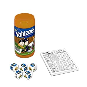 Click to buy Halloween Board Game: Charlie Brown the Great Pumpkin Yahtzee from Amazon!