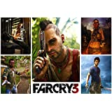 Far Cry 3 Game Poster - 12x19 Inch Art Material
