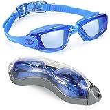 1 TOP RATED SWIM GOGGLES Aegend Clear Swimming Goggles No Leaking Anti Fog UV Protection Triathlon Swim Goggles...