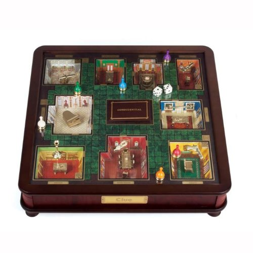Click to buy Franklin Mint CLUE Board Game from Amazon!