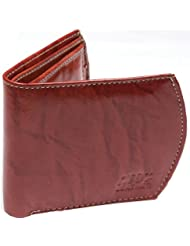 CAY Brown Color Stylish Casual Lather Wallet For Men With 2 Main Pocket, 3 Card Pocket & 1 Coin Pocket