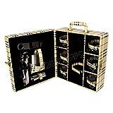 Bar Accessories | Mega Bar Set | Portable Leatherette Briefcase Bar Set | Bar Set | Bar Set For Picnic | Bar Set... - B01BNRB610