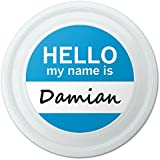 Graphics And More Damian Hello My Name Is Novelty 9 Flying Disc