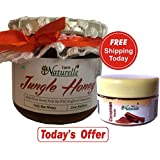 Farm Naturelle-Wild Forest/Jungle Honey (400Gms With Cinnamon Powder Pack Worth Rs.69/-)The Finest 100% Pure Raw...