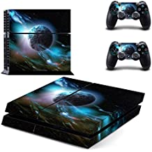 Elton Planet Star Theme Skin Decal Sticker For PS4 Playstation 4 Console Controller
