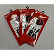 3 Zero Friction Youth Golf Gloves - Right Hand - One Size - White