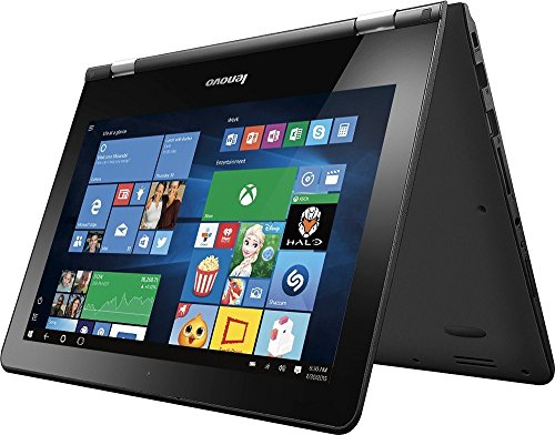Lenovo 2-in-1 Flagship 11.6-Inch HD Touchscreen Laptop With Woov Laptop Sleeve(Intel Celeron N3050 Dual-Core,...