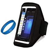 SumacLife Black Workout Running Sports Gym Armband Case Pouch - B00H9ZJW4E