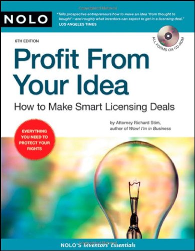 Profit from your Idea via Smart Licensing