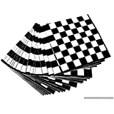 Skywalk Black And White Chess Board 3 Ply Paper Napkin Pack Of 20 Pc