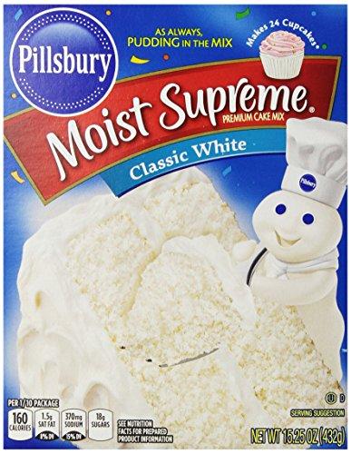 Pillsbury Moist Supreme Cake Mix - Classic White