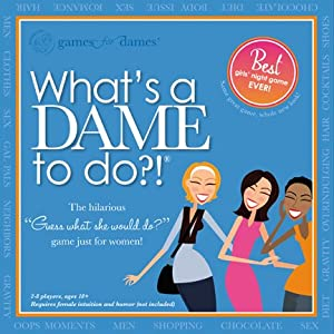 What's a DAME to Do?! wins our first ever GOLDEN FOOTPRINT award! Click to buy from Amazon.
