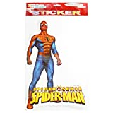 OFFICALLY LICENSED- MEDIUM CUTOUT STICKER OF SPIDER MAN(PACK OF 5)