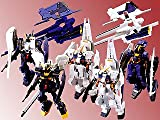 Ms Gundam Advance of Z Development History Figure Gashapon Case Part 2