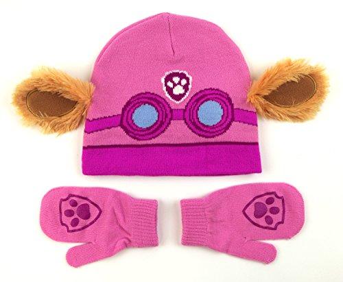 Nickelodeon Paw Patrol Skye Costume Hat and Mittens Set