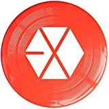 Red, One Size : XJBD Unisex Kpop EXO Logo Outdoor Game, Sport, Flying Discs, Game Room, Light Up Flying, Sport Disc , Flyer Frisbee, Ultra Star KellyGreen One Size