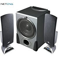CA-3550 32W 2.1-Channel Multimedia Speaker System Black And Free 6 Feet Netcna HDMI Cable - By NETCNA