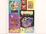 2 Packages of Goosebumps Stickers. 1995 Vintage NEW
