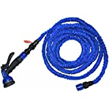 Dealcrox Amazing 50 Ft/15 M Expandable Garden Hose With Aluminum Alloy Nozzle Or Brass Fitting