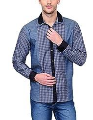 Yepme Men's Checks Cotton Shirt - YPMSHRT0439
