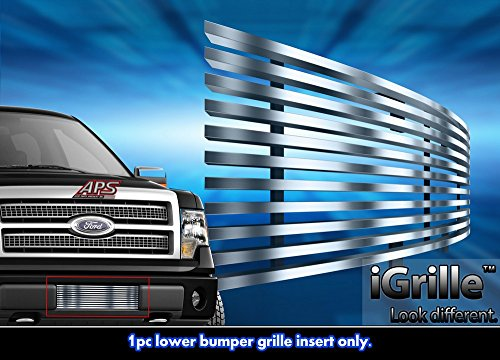 Stainless Steel 304 Billet Grille Grill Custome Fits 2009-2014 Ford F-150 Bumper