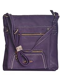 NOVICZ Latest Trendy Fashion Bag Beautiful Shoulder Bag Women'S Hand Bag Vanity Bag College Bag Purple Colour