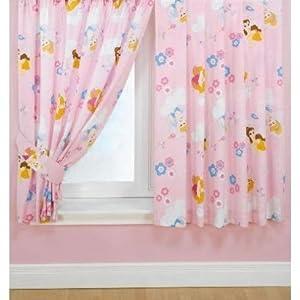 """Kinder Vorhang """"Disney Prinzessin"""", Vorhang Set (170cm x"""