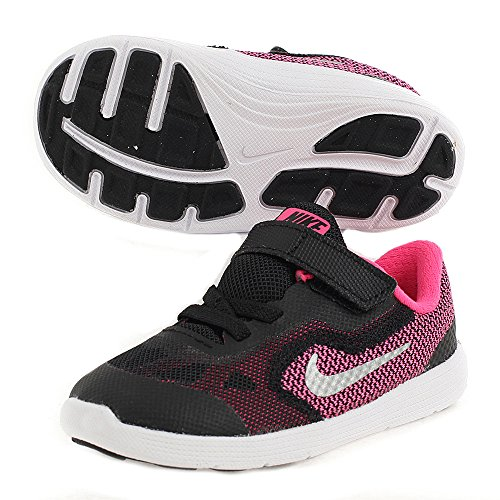 Nike Toddler Girls Revolution 3 (TD) Shoe #819418-001 (6c)