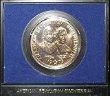 1973 Bronze Bicentennial Commemorative Medal Adams / Henry