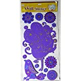 Colourful Themed 3D Layered Pop Up Adhesive Foam Glitter Kids Room Decor Wall Sticker: 1 Pc : 1 Pack (wx-99912)