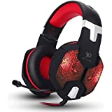 KOTION EACH G1000 Professional 3.5mm PC Gaming Bass Stereo Headset Headphones Earphones Headband With Mic Microphone...