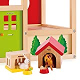 Hape - Happy Family Doll House - Furniture - Family Pets