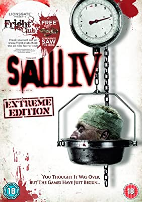 Saw 4 - Extreme Edition [2007] [DVD], , Used; Good DVD
