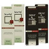 Atrimed Denz & Darc Hair Oil & Scurfol Anti-dandruff Shampoo, Pack Of 4