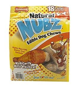 Amazon.com : Natural NUBZ Edible Dental Dog Chews : Pet
