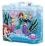Disney Princess Ariel and Her Sisters Playset, 3-Pack