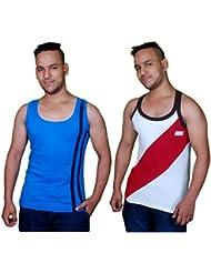 Men's Cotton Vest Men's Gym Vest Men's Sport Vest Men's Vest Inner Wear Pack Of 2 Pcs