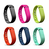 EZMAX Replacement Rubber Band For Fitbit Flex Wireless Activity Bracelet Wristband Without Tracker Small Size...