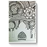 PosterGuy Alchemy Patterns, Abstract, Black And White Poster