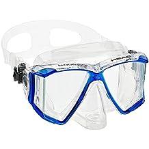 HEAD Mares Adult Barracuda Purge Mask, Scuba Diving Snorkeling Dive Mask