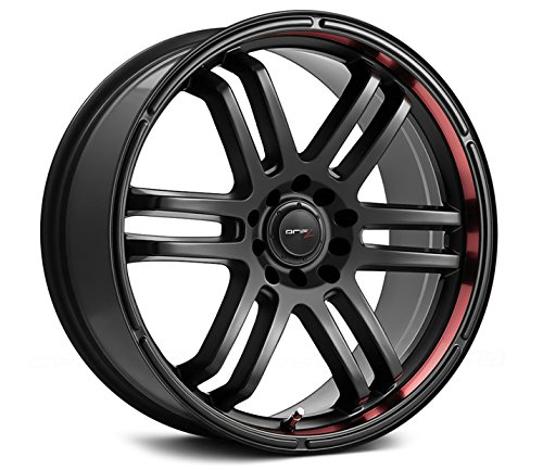 Drifz FX 15×6.5 Black Wheel / Rim 5×100 & 5×4.5 with a 42mm Offset and a 73.00 Hub Bore. Partnumber 207B-5651842
