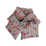 Rajrang Home Décor Indian Cotton Cushion Cover 18 By 18 Inches Set 5 Pcs