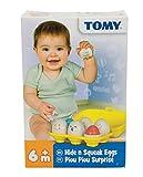 Tomy Hide N Squeak Eggs Learning Toy