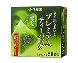 伊藤園 プレミアムティーバッグ 抹茶入り緑茶 50袋