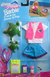 Barbie Check Up Dress 'N Play Ocean Friends Fashion Set (1996 Arcotoys, Mattel)