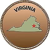Keepsake Awards Virginia Gold Award Pin